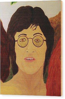 Afterlife Concerto John Lennon Wood Print