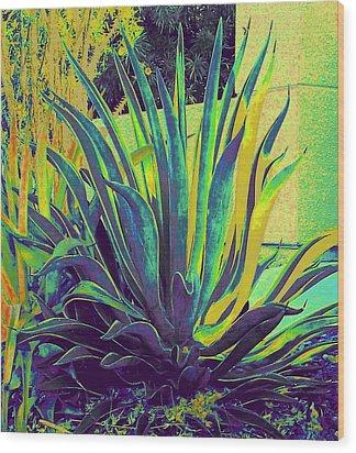 Agave Maria Wood Print
