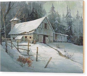 Ageless Beauty Wood Print by Michael Humphries