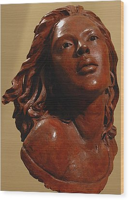 Aglow Wood Print by Wayne Headley
