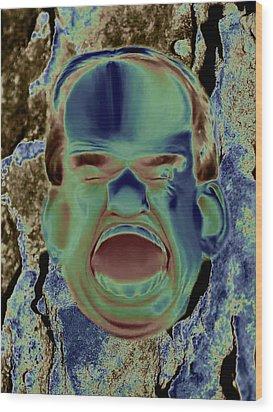Agony And Misery Wood Print