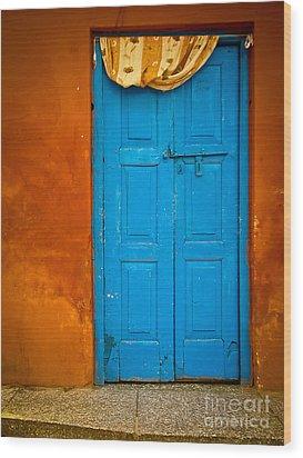 Agra Door Wood Print