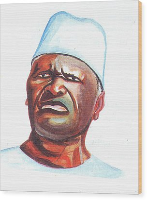 Ahmed Sekou Toure Wood Print