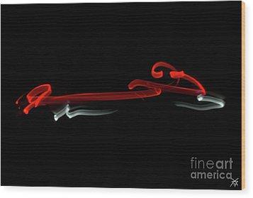 Aikido - Kotegaeshi, Omote Wood Print