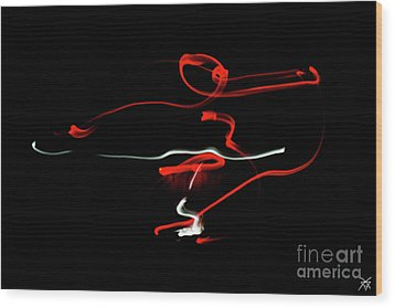 Aikido - Sankyo, Omote Wood Print