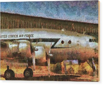 Air - United States Air Force Wood Print by Mike Savad