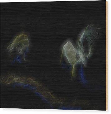 Air Spirits 6 Wood Print by William Horden