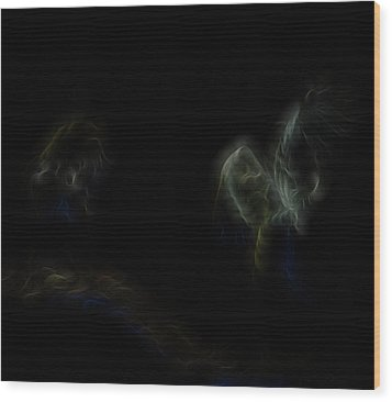 Air Spirits 7 Wood Print by William Horden