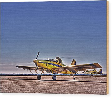 Air Tractor Wood Print