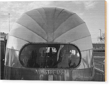 Airstream Dome Wood Print by David Lee Thompson