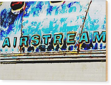 Airstream Wood Print
