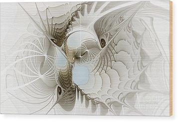 Airy Space2 Wood Print