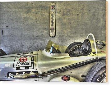 Aj Foyt 1961 Roadster Wood Print