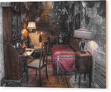 Al Capone Cell Wood Print by Svetlana Sewell