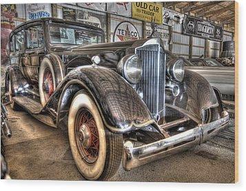 Al Capone's Packard Wood Print