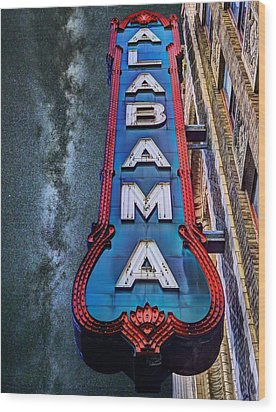 Wood Print featuring the photograph Alabama by JC Findley