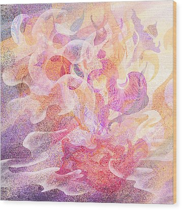 Aladdin's Lamp Wood Print by Rachel Christine Nowicki