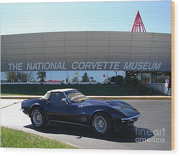 Alans 1968 Corvette Wood Print