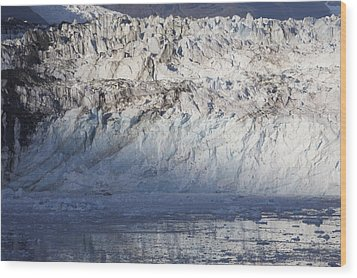 Alaskan Glacier 2 Wood Print by Robert Joseph