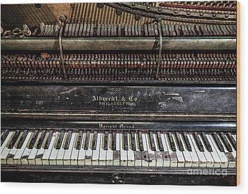 Albrecht Company Piano Wood Print