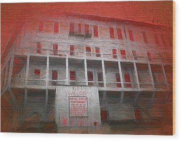 Alcatraz Federal Penitentiary Wood Print