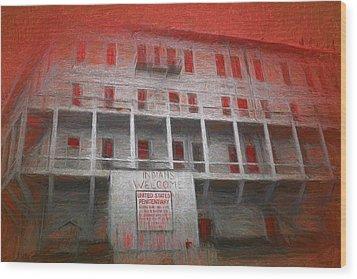 Alcatraz Federal Penitentiary Wood Print by Michael Cleere