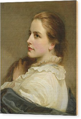 Alice Wood Print by Henry Tanworth Wells