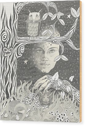 Alice Syndrome Wood Print
