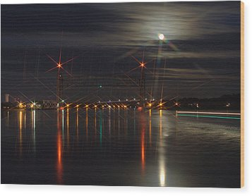 All Lit Up II Wood Print by Greg DeBeck