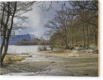 Wood Print featuring the photograph All Seasons At Loch Lomond by Jeremy Lavender Photography