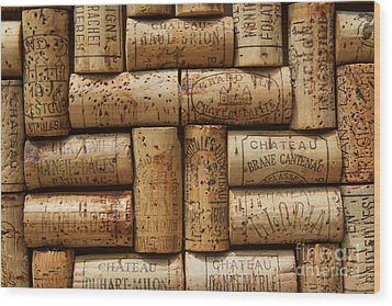 Grand Cru  Wood Print by Anthony Jones