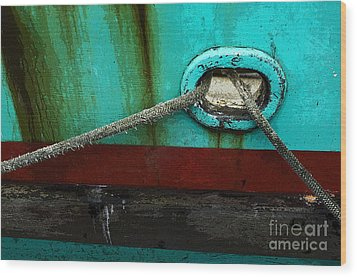 All Tied Up Wood Print by Bob Christopher