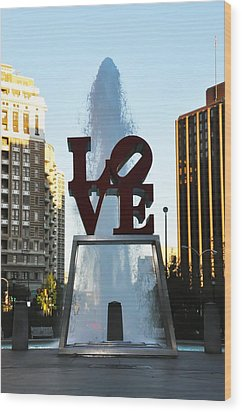 All You Need Is Love Wood Print by Bill Cannon