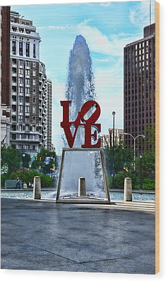 All You Need Is Love Wood Print by Paul Ward