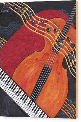Allegro Wood Print