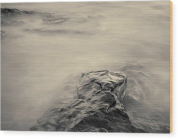 Wood Print featuring the photograph Allens Pond Xii Toned by David Gordon