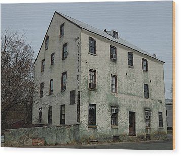 Allentown Gristmill Wood Print