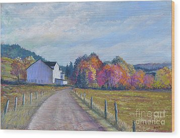 Almost Home Wood Print by Penny Neimiller