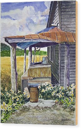 Almost Indoor Plumbing  Sold Wood Print