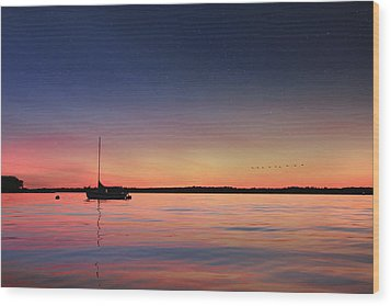 Wood Print featuring the photograph Almost Paradise by Lori Deiter