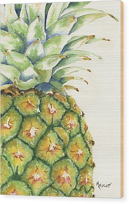 Aloha Wood Print by Marsha Elliott