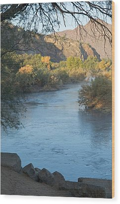 Along The Verde River 2 Wood Print by Susan Heller