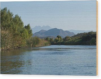 Along The Verde River 6 Wood Print by Susan Heller