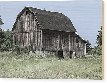 Wood Print featuring the photograph Along The Way by Kim Hojnacki