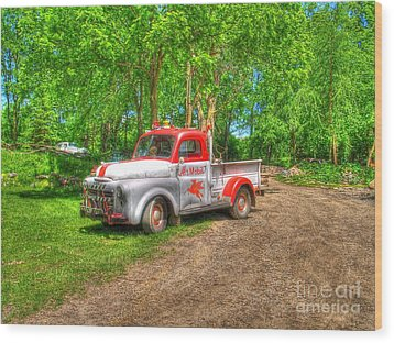 Al's Mobile Wood Print by Jimmy Ostgard