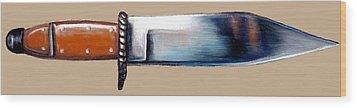 Altered Image 19 Wood Print by Cameron Hampton PSA