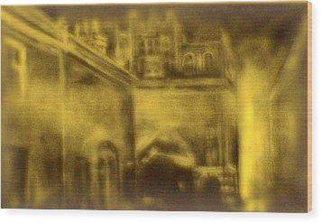 Altered Image 23 Wood Print by Cameron Hampton PSA