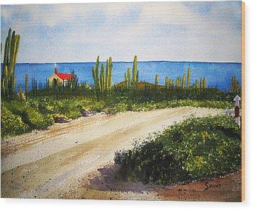 Alto Vista Chapel Wood Print