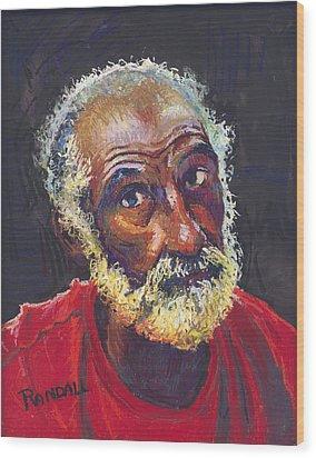 Alvin Wood Print