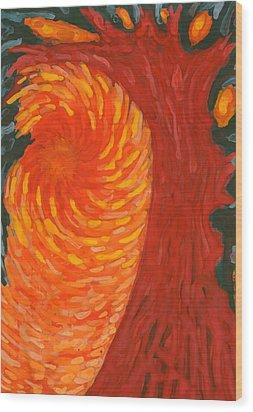 Always Near You Wood Print by Wojtek Kowalski